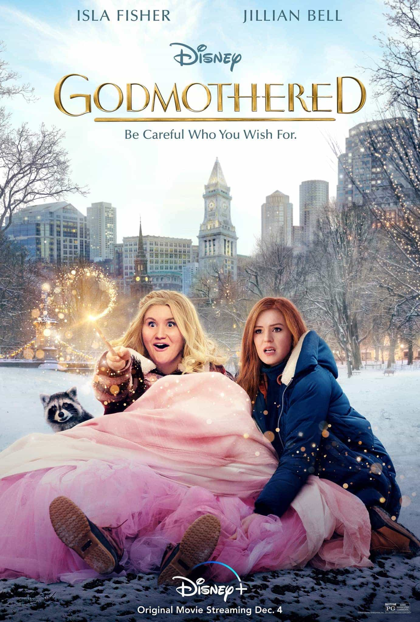 UK New Movie Preview December 3rd 2020 - Godmother makes its debut on Disney+ and a new version of A Christmas Carol hits cinemas