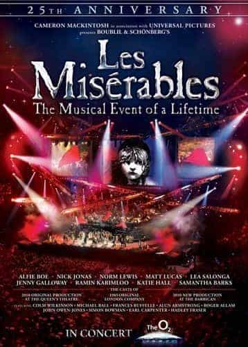 Les Misérables In Concert the 25th Anniversary