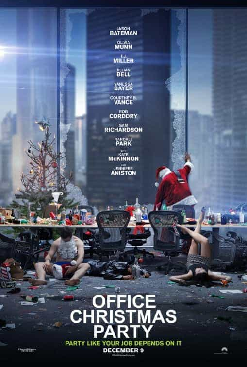 UK Box Office Charts Weekend 9th December 2016:  Beasts has one more week at the top with Office Christmas Party top new film at 4