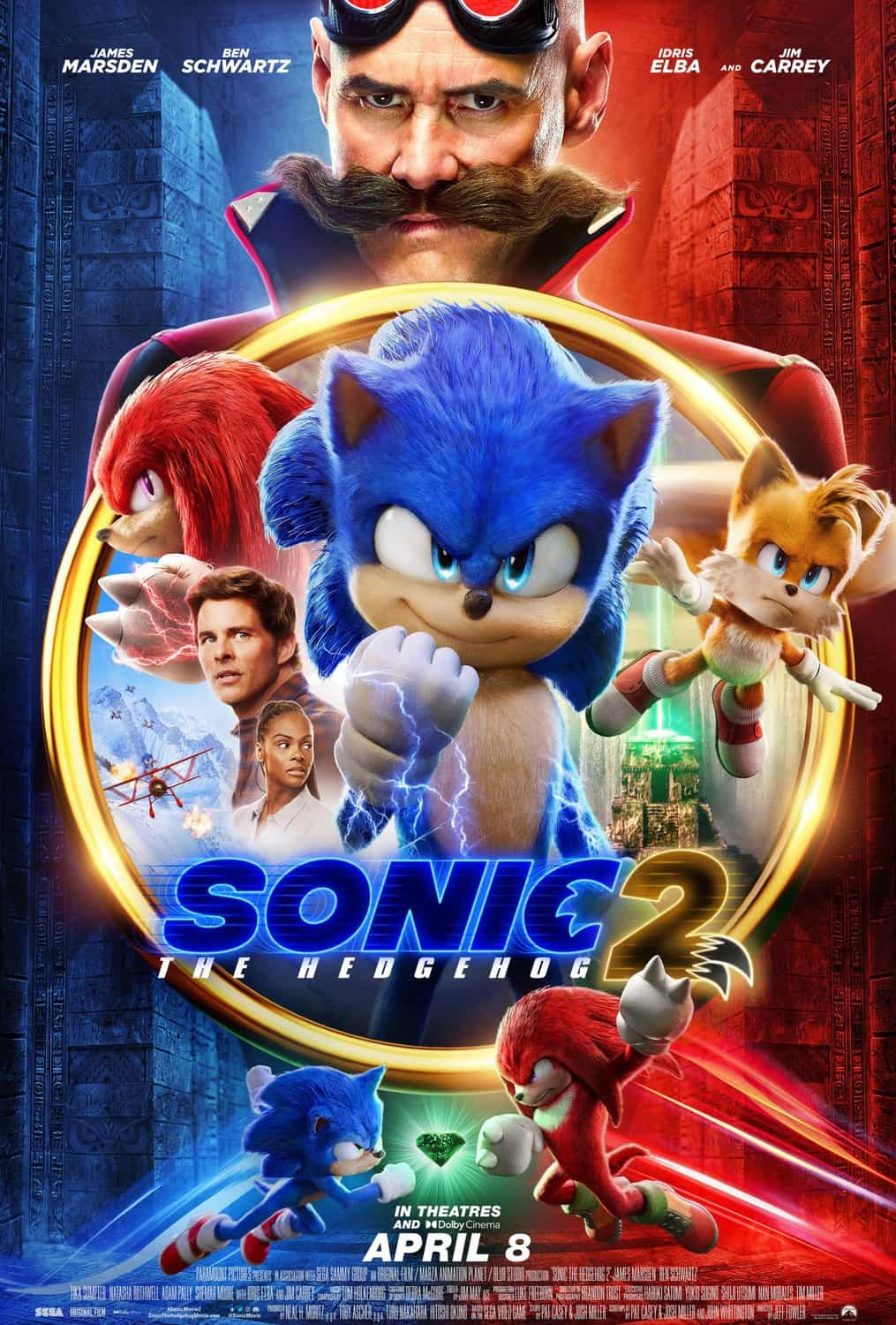 Sonic The Hedgehog 2 has been announced, and it looks like Tails will be in it, released April 8 2022
