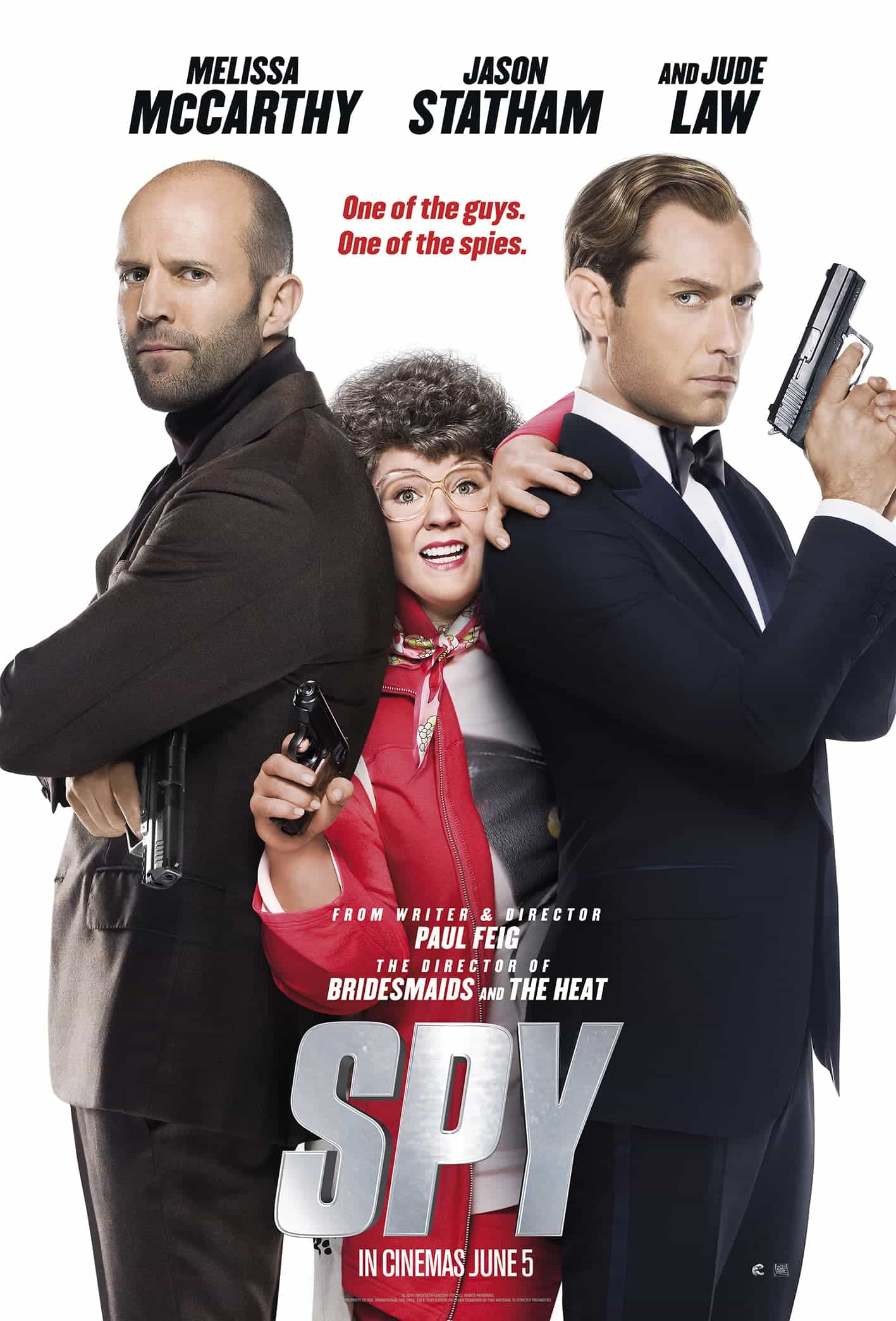 UK Box Office Report 5th June 2015:  Spy has its eye on the top