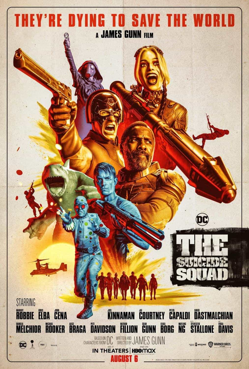 The Suicide Squad is given a 15 age rating in the UK for strong bloody violence, gore, language, brief drug misuse