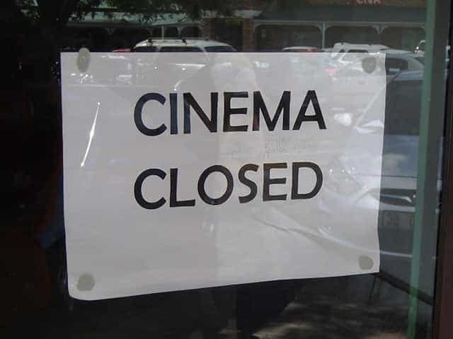 Cinema Closed